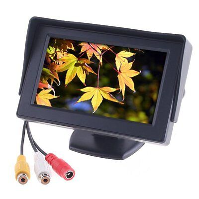 "Car Rear View System Backup Reverse Camera Night Vision 4.3"" TFT LCD Monitor BB"