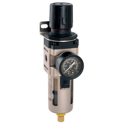Air Pneumatic Filter/Regulator 1/2bspp 0-10Bar