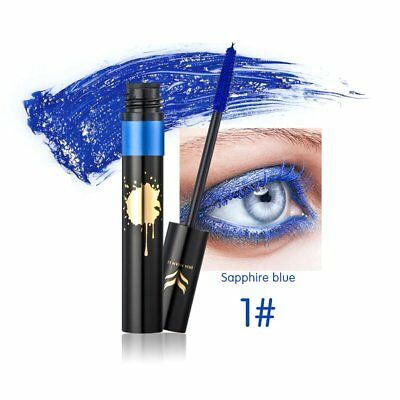HUAMIANLI Waterproof Colorful Eye Makeup Lengthening Thick Curly Mascara ToSQ