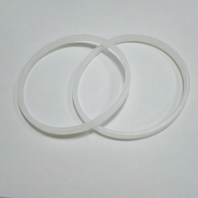 2 White Replacement Gasket Ring Rubber Seals For Milling Blade Nutribullet 600W