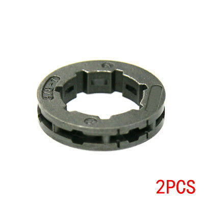 "2*Clutch Drum Rim Sprocket 7 Tooth 3/8""-7 For STIHL Chainsaws 038 MS380 MS381"