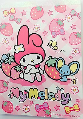 Sanrio Hello Kitty: My Melody Strawberry K/T Memo Pad With 80 Sheets