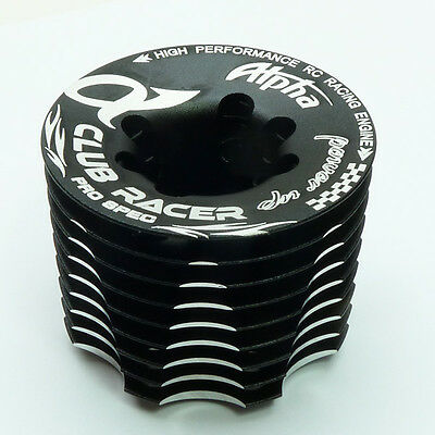 Alpha Plus .21 nitro engine F850 Club Racer Cooling head replacement.