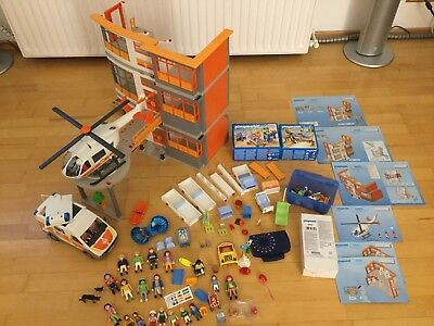 playmobil set sporthalle 4325 werkraum 4326 kiosk 4327. Black Bedroom Furniture Sets. Home Design Ideas
