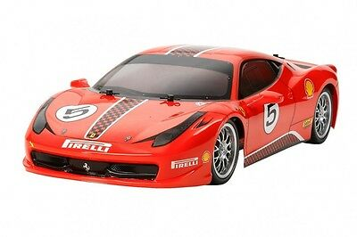 TAMIYA 1/10 RC Car Series No.560 Ferrari 458 Challenge (TT-02 chassis) Kit
