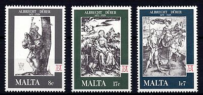 Malta 1978 Flemish Tapestries Complete Set SG 592 - 5 Unmounted Mint