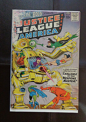 Brave And The Bold 29 Second Jla App. 1960 Color Touched And Trimmed Reader Copy