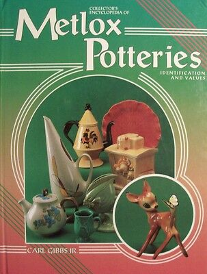 Vintage Metlox Art Pottery Price Value Guide Collectors Book