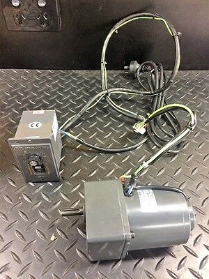 Spit Motor 25W 1 Phase 240 Volt 1-9 RPM Variable Speed with Controller
