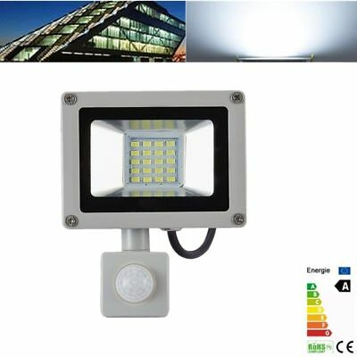 10W 20W LED Floodlight Garden Outdoor Security Spot Light Lamp PIR Sensor 220V