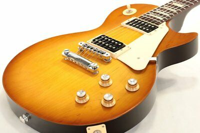 2016 Gibson Les Paul 50s Tribute T Satin Honeyburst Electric Guitar HH Pick Up