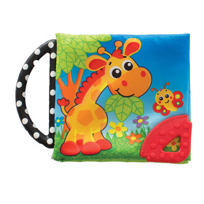 Playgro Picnic Pals Teether Book - NEW