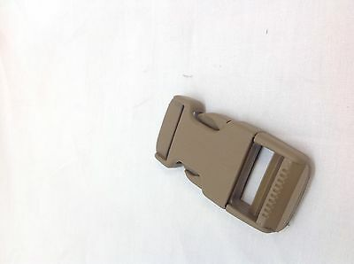"10-NEW Duraflex Mojave 1"" Side Release Buckles Coyote National Molding SR"