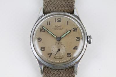 BEHA Antimagnetic 30er J. Dienstuhr Fliegeruhr Militär Air Force Pilot Wehrmacht