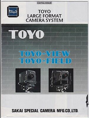 Toyo-View / Toyo-Field * Large Format Camera System - Catalogue