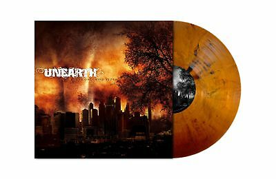 UNEARTH The Oncoming Storm ORANGE/BROWN MARBLED Vinyl LP [Ltd 300] RI