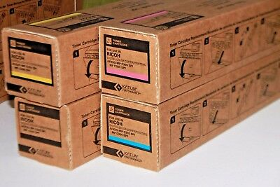 Lot of 4 Katun for Ricoh MP C305SP MP C305SPF Toner 842122 842121 842120 842119