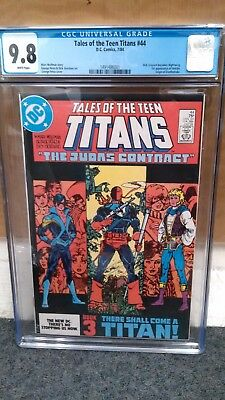 Tales of the New Teen Titans # 44 CGC 9.8 1st Nightwing