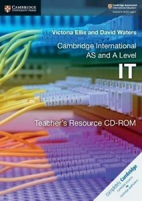 Cambridge International AS and A Level IT Teacher's Resource CD-ROM.