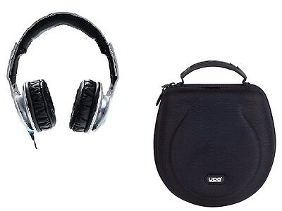Bundle RELOOP RHP30 Silver CUFFIA DJ CON MIC + UDG Headphone Case Large Black