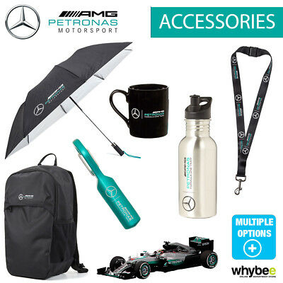 Official Mercedes F1 Formula One Team Accessories - Bags Keyrings Mug & Gifts!
