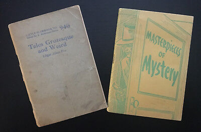 Little Blue Book Poe 2 piece lot No. 940 and 943 (Ltd Green Cover edition)
