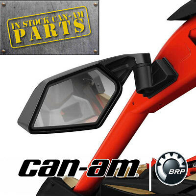 Can-Am New OEM Maverick X3 Racing Side Mirrors 715002898 (IN STOCK FAST SHIP)