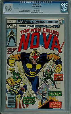 Nova #13 CGC 9.6 NM+ 35 cent price variant .35 white pages mint 1174361027