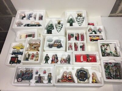 Lot of 16 Dept 56 Village Accesories In Boxes