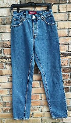 Levis 550 women vintage 90s classic relaxed fit tapered leg MOM jeans sz 6 Mis L