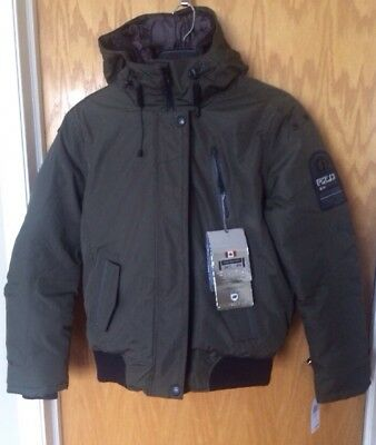 a806891ce POINT ZERO MENS Down Jacket- New With Tags- Small - Military Green -$325