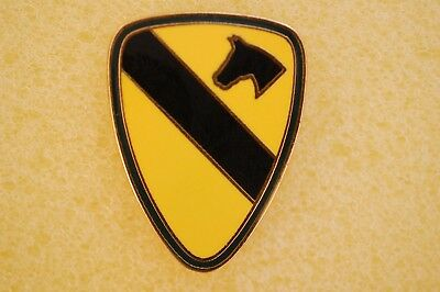US USA Army 1st Cavalry Division Military Hat Lapel Pin
