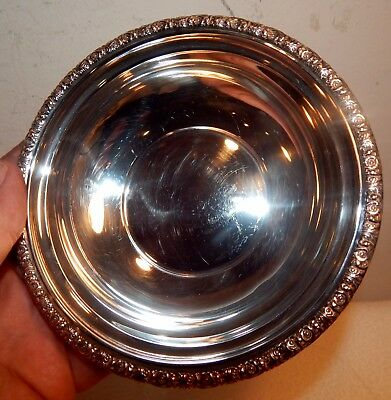 Vintage International Sterling Silver Prelude Small Bon-Bon Bowl Dish / 95 Grams