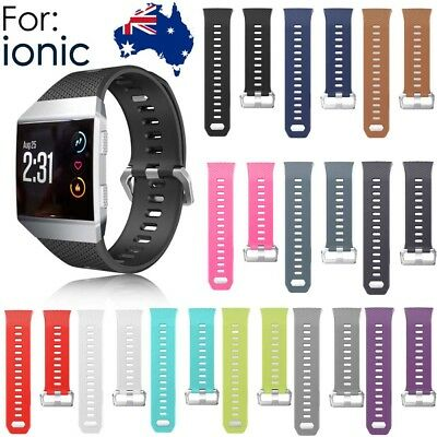 12 Colors Silicone Replacement Spare Band Strap for Fitbit Ionic small Large