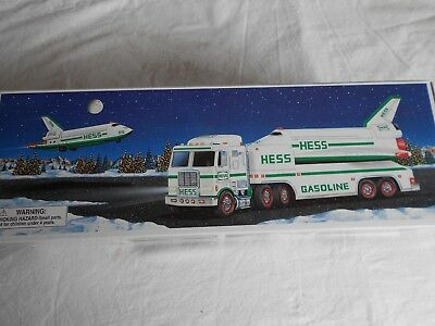 1999 Hess Toy Truck and Space Shuttle w/ Satellite -  NIB