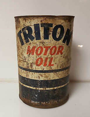 Vintage Oil Can union 76 Triton Motor Oil