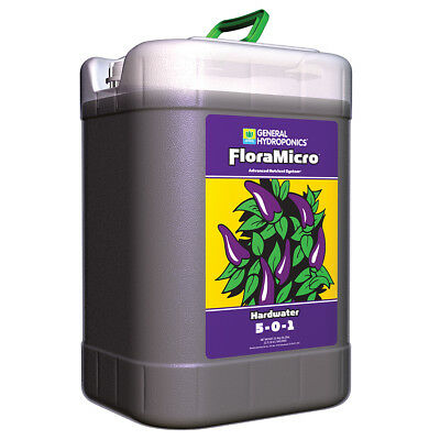 General Hydroponics Flora Micro Hardwater 6 Gallon - GH 6G G floramicro