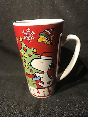 Peanuts Snoopy Charlie Brown Galerie Be Joyful Be Jolly Merry Christmas Cup Mug