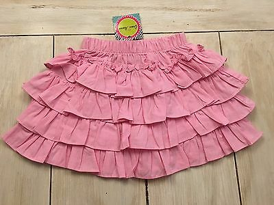 GRACE HAVEN NWT Boutique Pink White Gingham Skirt~12 Months~