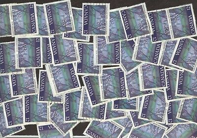 Stamps Canada # 742, 12¢, 1977, Lot of 100 Used stamps.