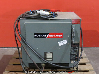 Hobart Accu-Charger 865C3-12 Industrial Battery Charger 24V Forklift Charger 3PH