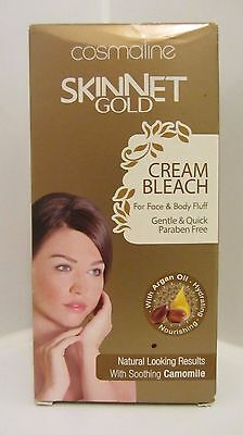 Cream  Bleach for Face & Body Fluff Gentle & Quick, Paraben free