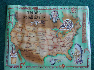 Tribes of the Indian Nation Poster 1996