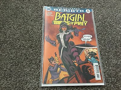 Batgirl And The Birds Of Prey #6 (2017) 1St Printing Dc Universe Rebirth