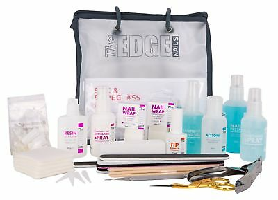 The Edge Nails Professional Silk and Fibreglass Nail Kit Perfect Gift