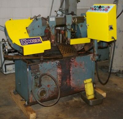 "10"" x 10"" Cosen #AH250, Automatic Horizontal Band Saw"