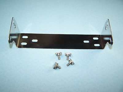 Dx1C Chrome Mounting Bracket With Knobs Cobra 148 Uniden Connex Etc