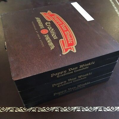 Pappy Van Winkle Drew Estate Empty Cigar Box (Event Exclusive Lonsdale)