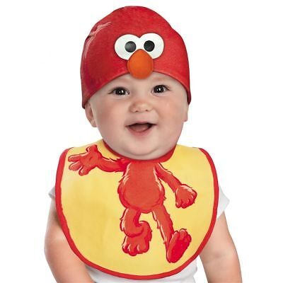 Drool Over Me ELMO Infant Bib & Hat Set - STOCKING STUFFER LAST 1