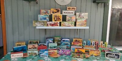 Amazing collection of Avon cars & trucks. Still in original boxes.